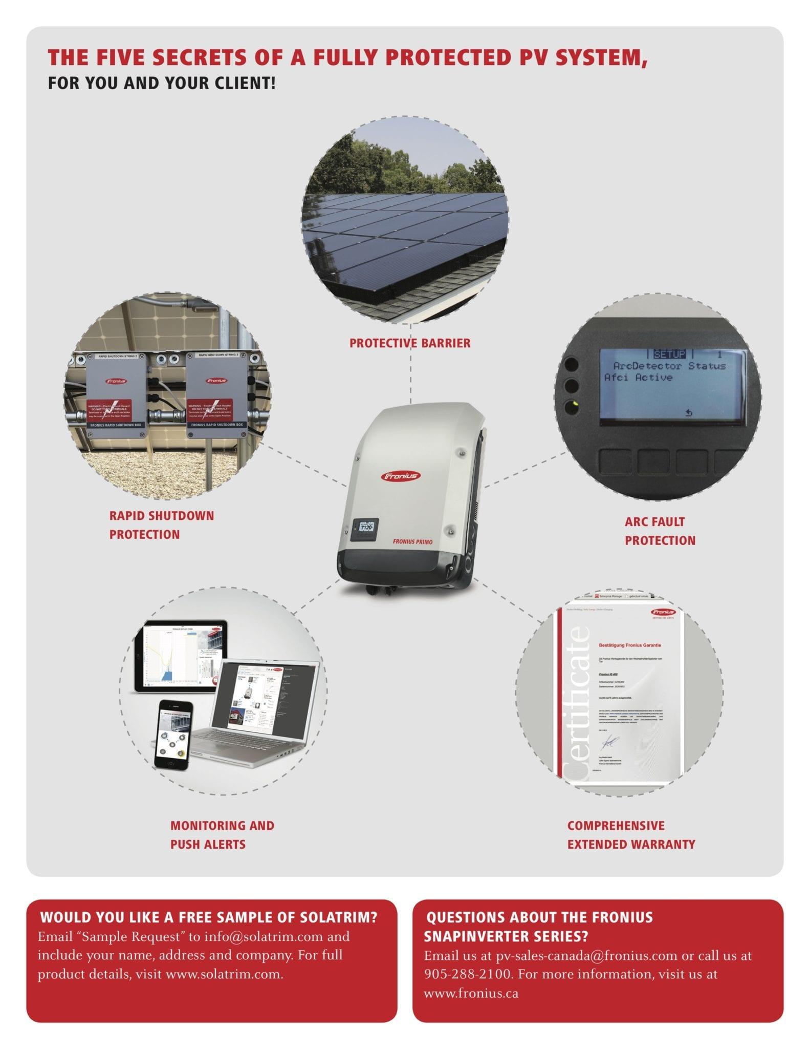 Fronius Solar Panel Rodent Protection Case Study Solatrim
